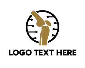 Chiropractic - Orthopedic Therapy logo design
