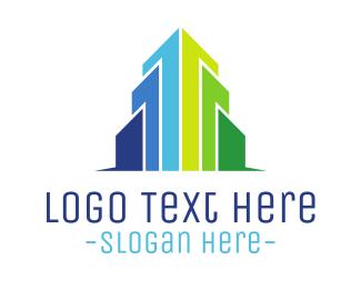Building - Modern Building  logo design