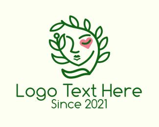 Heart - Organic Feminine Wellness  logo design