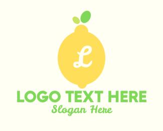 Stall - Lemon Lettermark logo design