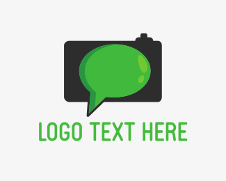 Photo - Talking Camera logo design