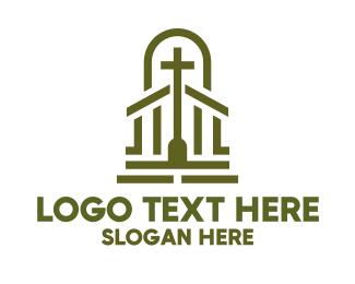 Christian - Christian Chapel Cross logo design