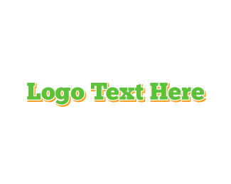 Typewritten - Green & Classic logo design