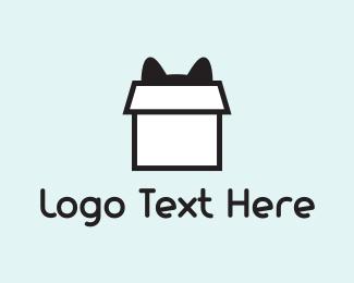 Playful - Cat Box logo design