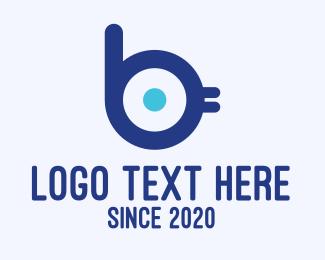 Chick - Bird Mascot Letter B logo design