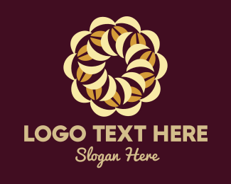 Bean - Coffee Bean Pie logo design