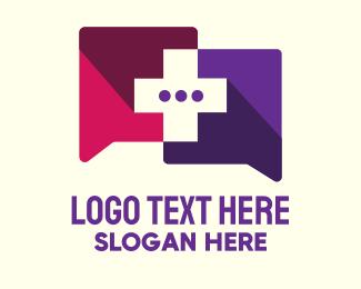 Pharmacist - Medical Consultation Messaging App logo design