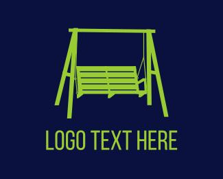 Swing - Porch Swing logo design