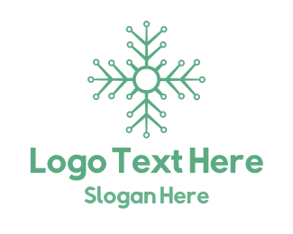 Tagline - Flower Tech logo design