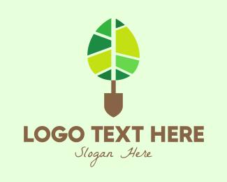 Landscape Gardening - Organic Tree Planting logo design
