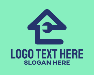 Fix - Wrench House logo design