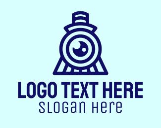 Blue Train Photography Logo