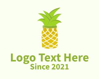 Mason - Pineapple Jar logo design