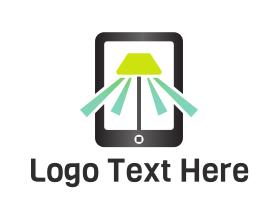 Light - Mobile Light logo design