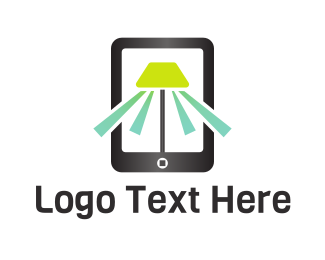 Mobile Phone - Mobile Light logo design