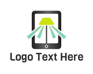 Mobile Phone - Mobile Light logo design
