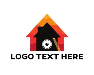 Spy - Photography House logo design