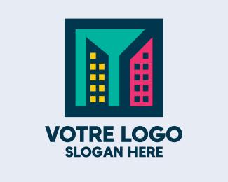 Construction Artistic Construction Firm logo design