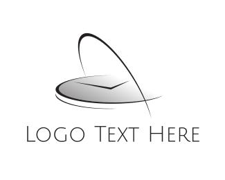 Minute - Modern Clock logo design