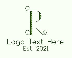 Company - Garden Vine Letter R logo design