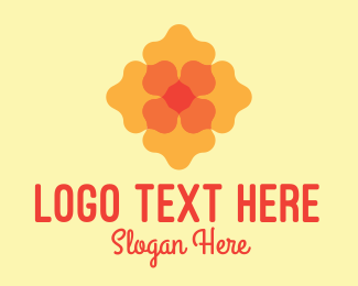 Decor - Decorative Flower Shop logo design