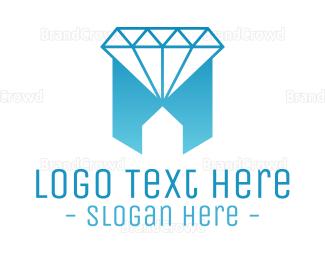 Jewelry - Geometric Jewelry House logo design