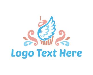 Sugar - Heaven Cupcake logo design