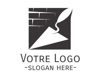 Construction Construction Trowel logo design