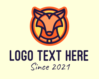 Wolf Pack - Wild Fox Animal logo design