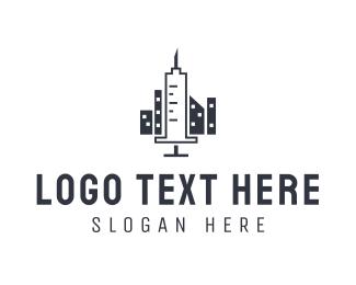 Syringe - Syringe City logo design