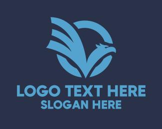 Sports - Eagle Check logo design
