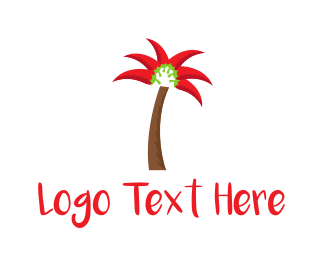 Chili - Chili Palm logo design