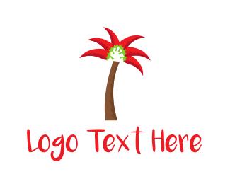 Mexican - Chili Palm logo design