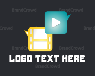 Media - Media Player logo design