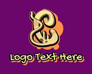 Graffiti   Artist - Graffiti Art Number 0 logo design