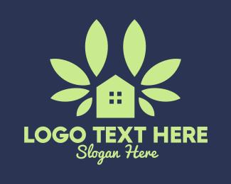 Simple Green House Logo