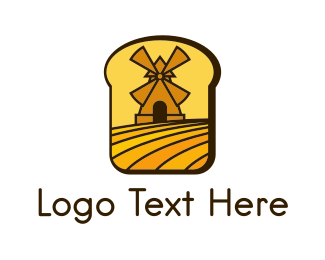 Sandwich - Bread Mill logo design