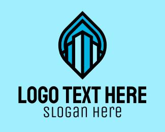 Company - Blue Realty Company logo design