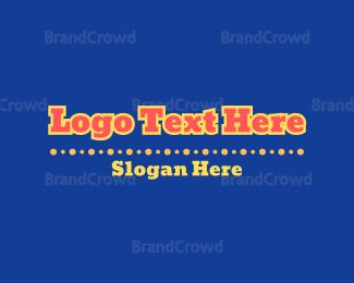 Cowboy - Carnival Wordmark logo design