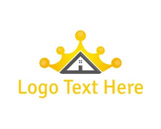 Estate Agency - Royal House logo design