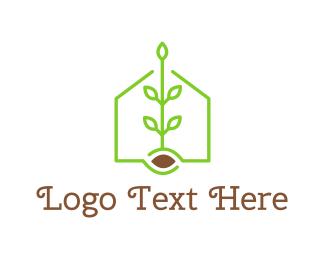 Beverage - Green Tea House logo design