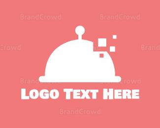 Food Blog - Digital Food logo design