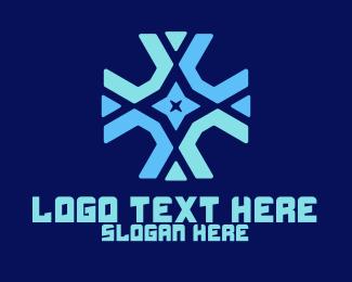 United - Star Cross logo design