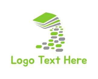 Magazine - Book Path logo design