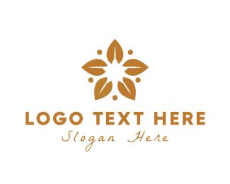 Leaves - Golden Leaves logo design