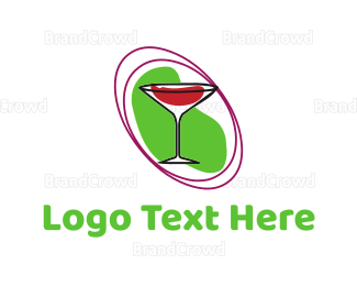 Cocktail - Martini Glass logo design