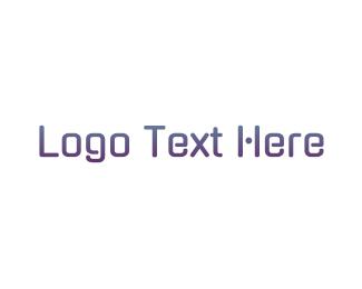 Techonology - Tech Purple Gradient logo design