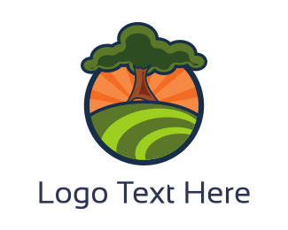 Trunk - Oak Hill logo design