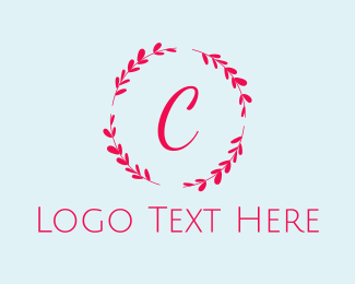 Instagram - Beauty  Bright Wreath logo design