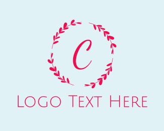 Instagram - Beauty  Bright Wreath logo design